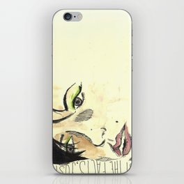 Just the Facts iPhone Skin