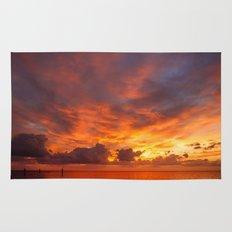 Burning Sunset Rug