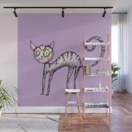 Funny cat Wall Mural