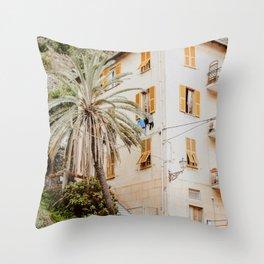 Manarola, Cinque Terre II Throw Pillow