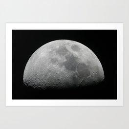 Moonface Art Print