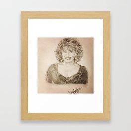 Joy Behar Framed Art Print