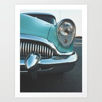 Old Vintage Car Art Print