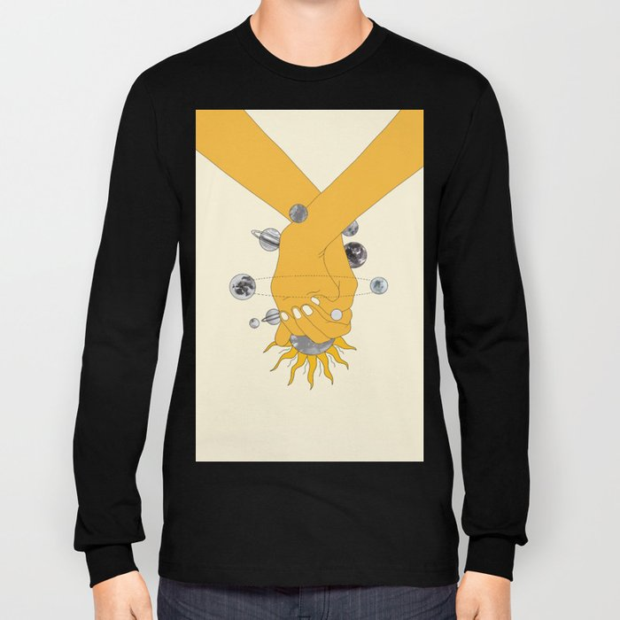 Everything Revolves Around Us Long Sleeve T-shirt