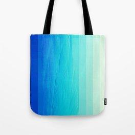 Blue Buffer Tote Bag