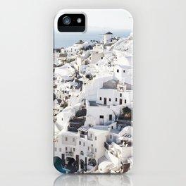 Oia iPhone Case
