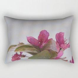 Block Glass Azaleas Rectangular Pillow