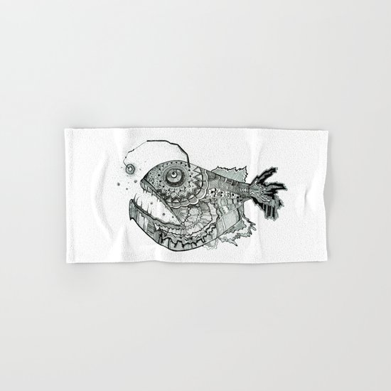 the iron fish Hand & Bath Towel