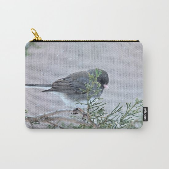 Reverie (Dark-eyed Junco) Carry-All Pouch
