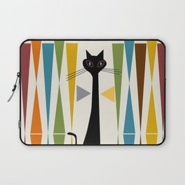 Mid-Century Modern Art Cat 2 Laptop Sleeve