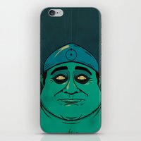 watchmen iPhone & iPod Skins featuring It's Always Sunny in Watchmen - Frank by Jessica On Paper