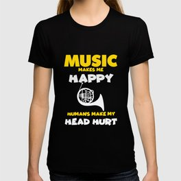 Harp Music Harp Player Funny Saying Musician T-shirt