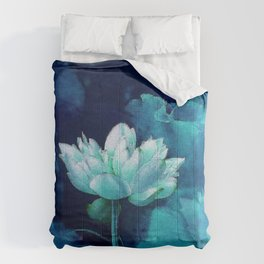 Moonlight Water Lily Comforters