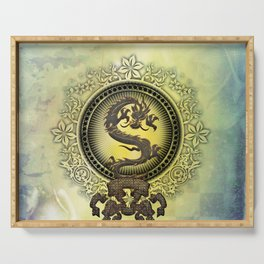 The chinese dragon Serving Tray