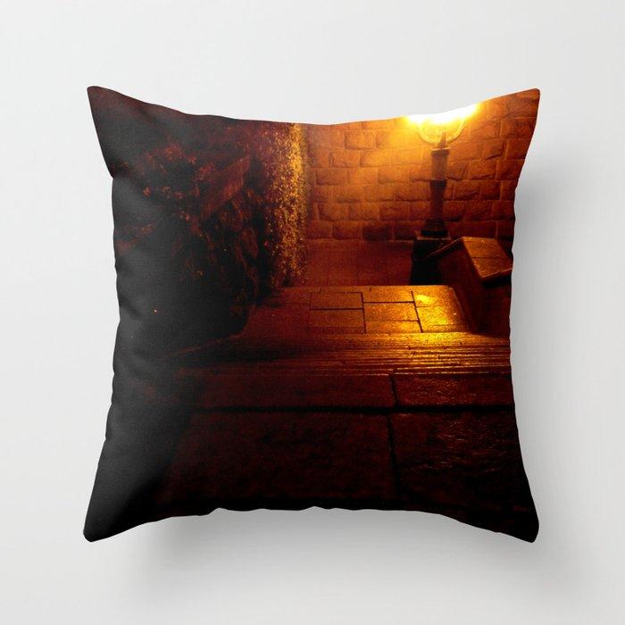 Night Crest 5 Throw Pillow