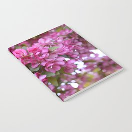 Deep pink blossom Notebook