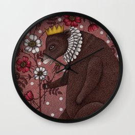 Snow-White and Rose-Red (2) Wall Clock