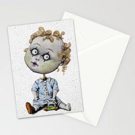 The Zombie Games (boy) Stationery Cards