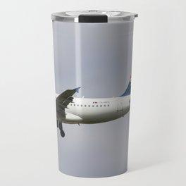 Air serbia Airbus A319 Travel Mug