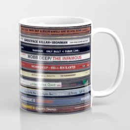 Old School 80's and 90's Hip Hop CD Collection Coffee Mug