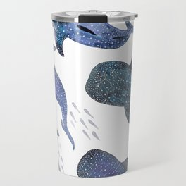 Whale Shark Pattern Party Travel Mug