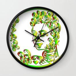 Grenada Queen Goddess Abstract Wall Clock