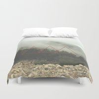 spanish Duvet Covers featuring Spanish Fog by EXIST lifestyle