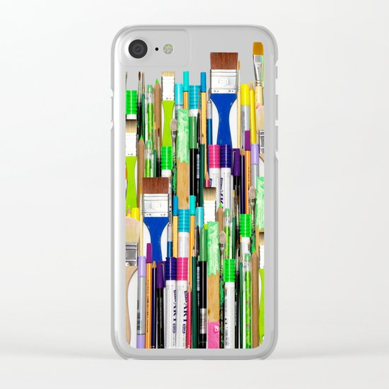 Real Weapons Of Mass Creation II Clear iPhone Case