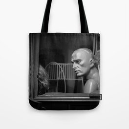 Serious Conversation Tote Bag