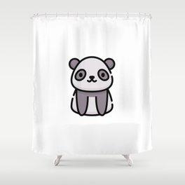 Just a Cute Panda Shower Curtain