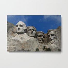 Four Former U S Presidents Metal Print