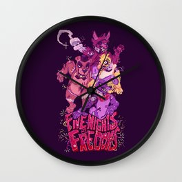 Five Nights at Freddy's Wall Clock