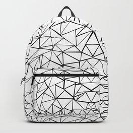 Face White Backpack