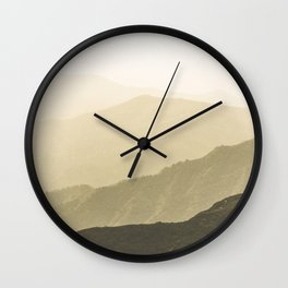 Cali Hills Wall Clock