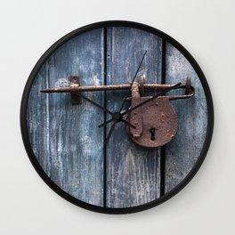 Padlock III Wall Clock