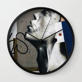 Wanker Wall Clock