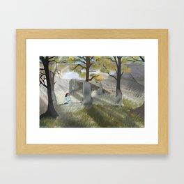 Outlander Framed Art Print