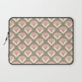 Mid-century Modern Radio Antenna Pattern /Rose Laptop Sleeve