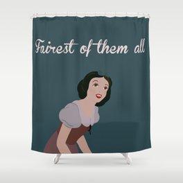 Fairest Peasant  Shower Curtain