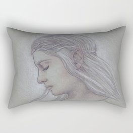 Elven Lady Rectangular Pillow