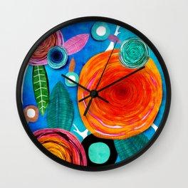 Glück kann man trainieren - Rupy de Tequila ultimative Farben 2018 Wall Clock