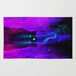 God of Wolves: Neon Flux Rug