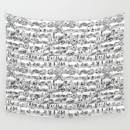 Hand Written Sheet Music Wall Tapestry