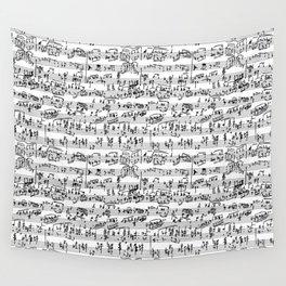 Hand Written Sheet Music Wall Tapestry