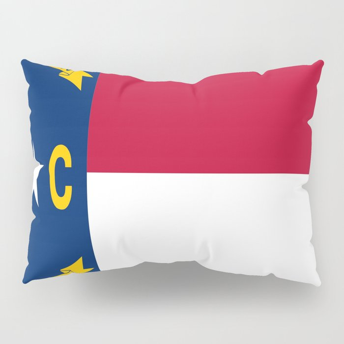flag of north carolina-south,america,usa,Old North State,Tar Heel,North Carolinian,Charlotte,Raleigh Pillow Sham
