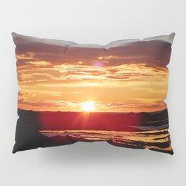 Ground Level Sunset Pillow Sham