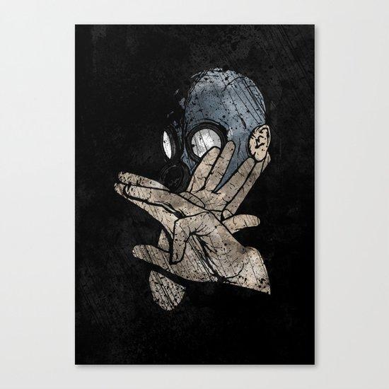 I Know Karate Canvas Print