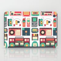 technology iPad Cases featuring Retro Technology 1.0 by Ralph Cifra