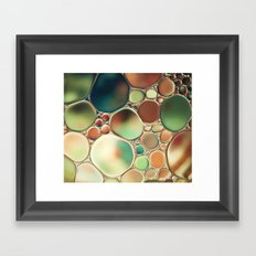 Pastel Abstraction Framed Art Print