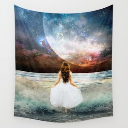 Worlds Apart Wall Tapestry